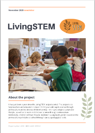 #livingSTEM Nov 2020 NL
